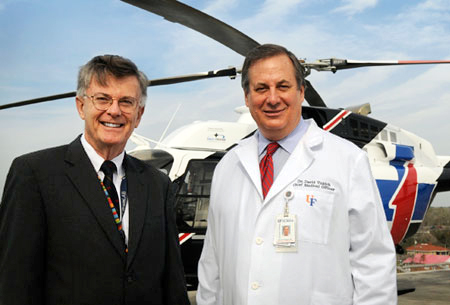 Shands Jacksonville expands TraumaOne flight services