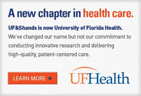 UF&Shands is now University of Florida Health.