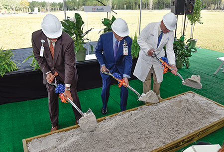UF Health breaks ground on new inpatient tower at its north campus