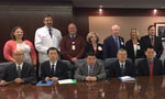 Chinese medical delegation visits Jacksonville campus - Thumb